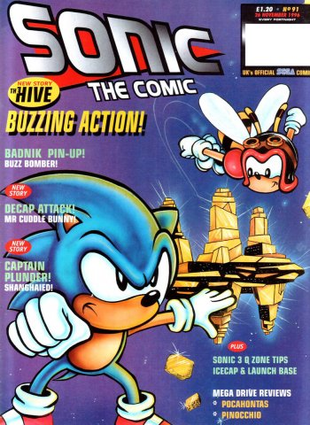 Sonic The Comic 091 (November 26, 1996)