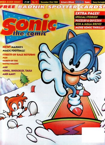 Sonic the Comic 041 (December 23, 1994)