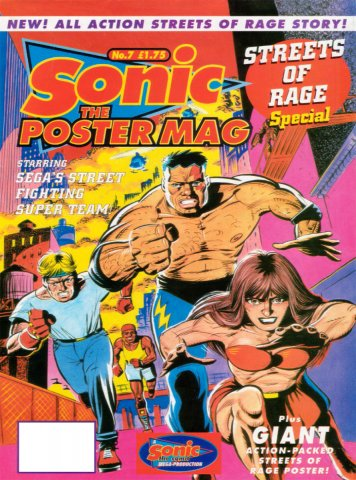 Sonic The Poster Mag 07 (October 22, 1994)