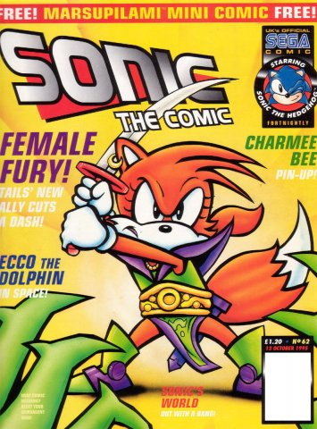 Sonic the Comic 062 (October 13, 1995)