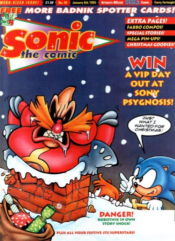 Sonic the Comic 042 (January 6, 1995)