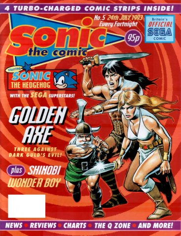 Sonic the Comic 005 (July 24,1993)