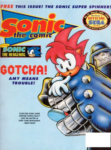 Sonic the Comic 021 (March 18, 1994)