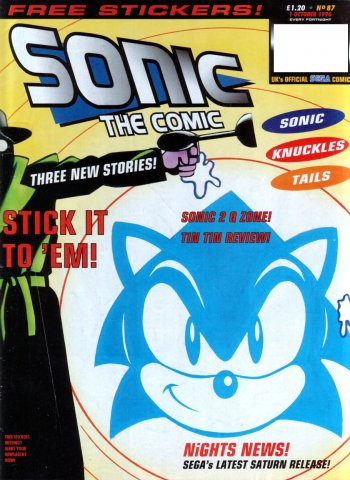 Sonic the Comic 087 (October 1, 1996)