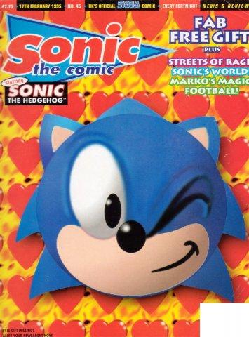 Sonic the Comic 045 (February 17, 1995)