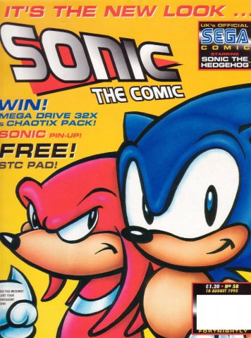 Sonic the Comic 058 (August 18, 1995)