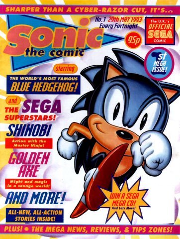 Sonic the Comic 001 (May 29,1993)