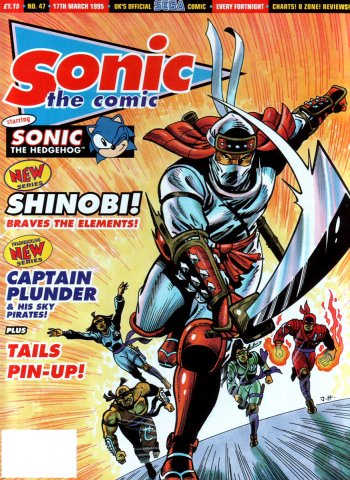 Sonic the Comic 047 (March 17, 1995)