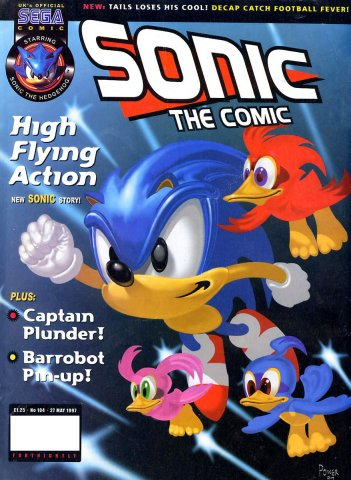 Sonic The Comic 104 (May 27, 1997)