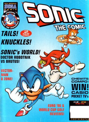 Sonic the Comic 082 (July 19, 1996)