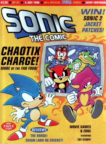 Sonic the Comic 081 (July 5, 1996)