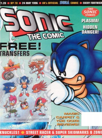Sonic the Comic 078 (May 24, 1996)