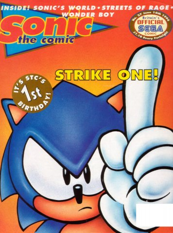 Sonic the Comic 027 (June 10, 1994)