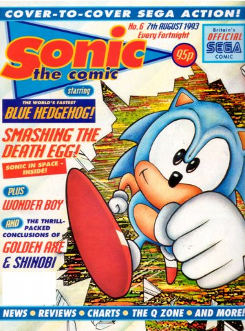 Sonic the Comic 006 (August 7,1993)
