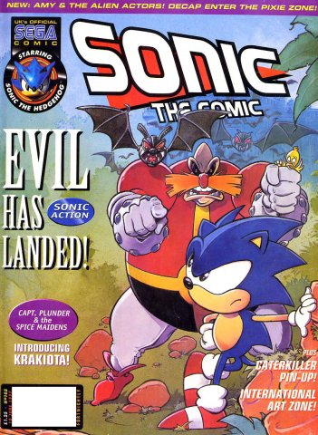 Sonic The Comic 105 (June 10, 1997)