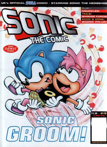 Sonic the Comic 075 (April 12, 1996)