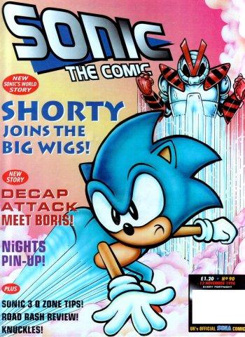 Sonic The Comic 090 (November 12, 1996)