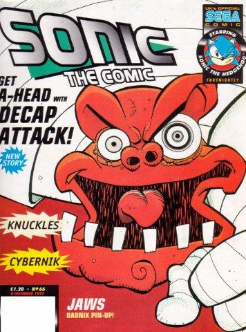 Sonic the Comic 066 (December 8, 1995)