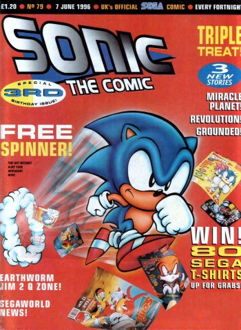 Sonic the Comic 079 (June 7, 1996)