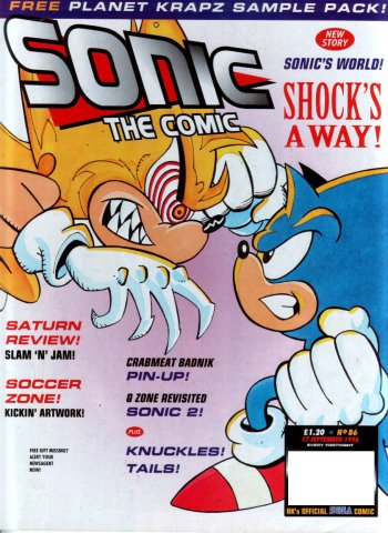 Sonic The Comic 086 (September 17, 1996)