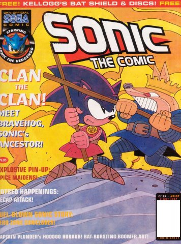 Sonic The Comic 107 (July 8, 1997)