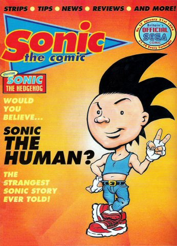 Sonic the Comic 017 (January 21, 1994)