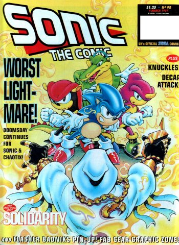 Sonic The Comic 098 (March 4, 1997)