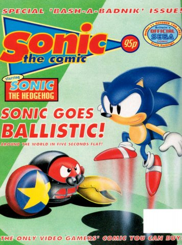 Sonic the Comic 011 (October 16, 1993)