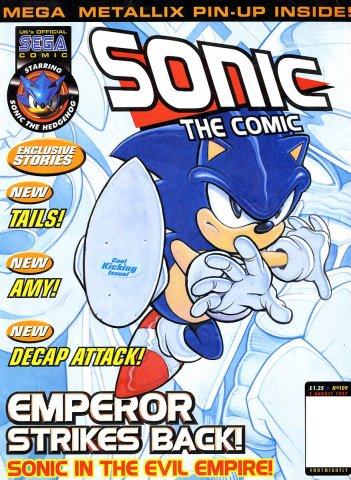 Sonic The Comic 109 (August 5, 1997)