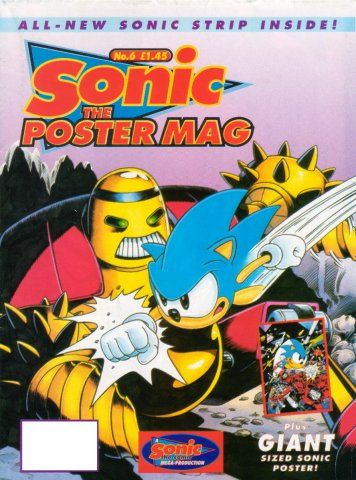 Sonic The Poster Mag 06 (October 14, 1994)