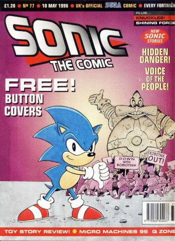 Sonic the Comic 077 (May 10, 1996)