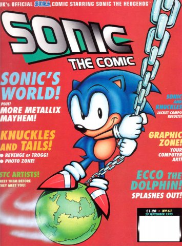 Sonic the Comic 061 (September 29, 1995)