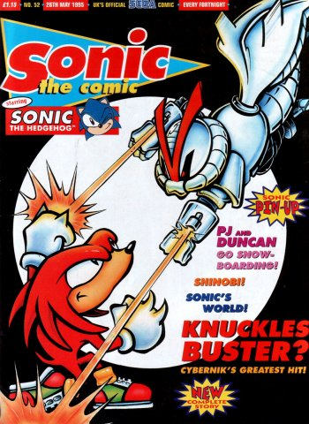 Sonic the Comic 052 (May 26, 1995)
