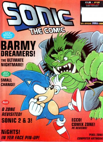 Sonic the Comic 088 (October 15, 1996)