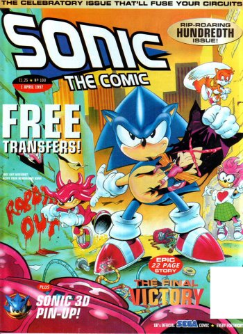 Sonic The Comic 100 (April 1, 1997)