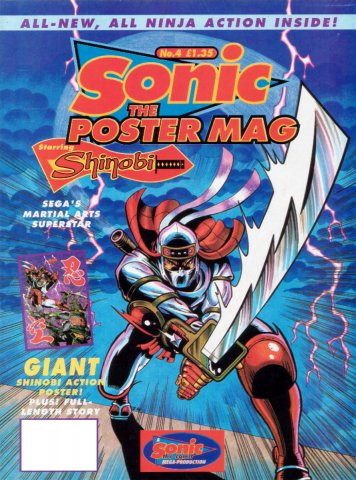 Sonic The Poster Mag 04 (May 1994)