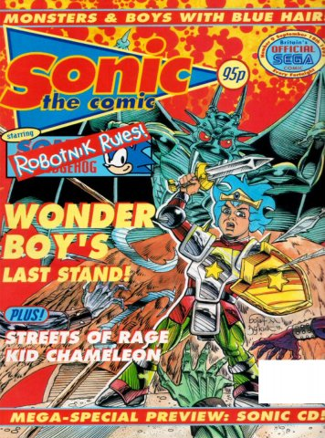 Sonic the Comic 009 (September 18, 1993)