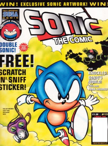 Sonic the Comic 072 (March 1, 1996)