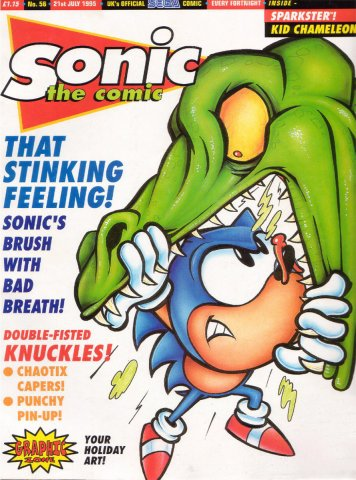 Sonic the Comic 056 (July 21, 1995)