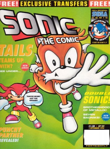 Sonic the Comic 059 (September 1, 1995)