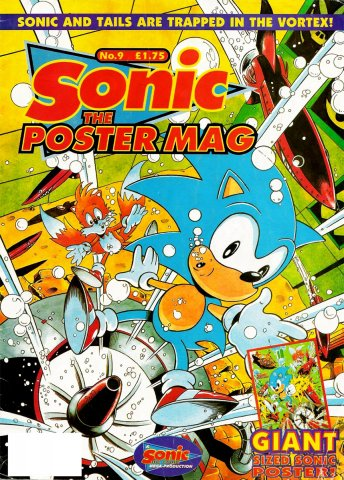 Sonic The Poster Mag 09 (December 24, 1994)