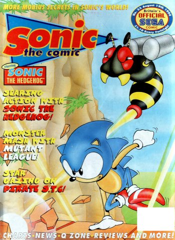 Sonic the Comic 032 (August 19, 1994)