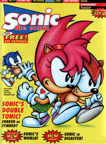 Sonic the Comic 051 (May 12, 1995)
