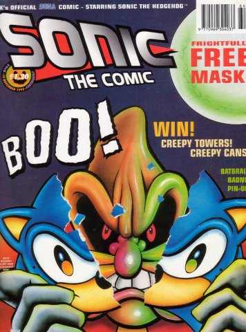 Sonic the Comic 064 (November 10, 1995)