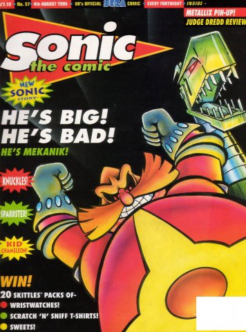 Sonic the Comic 057 (August 4, 1995)