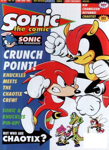 Sonic the Comic 054 (June 23, 1995)