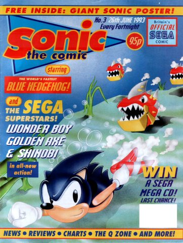 Sonic The Comic 003 (June 26,1993)