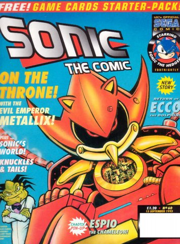 Sonic the Comic 060 (September 15, 1995)