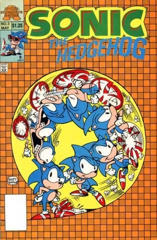 Sonic The Hedgehog Miniseries 003 (May 1993)