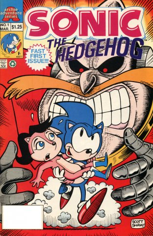 Sonic The Hedgehog Miniseries 001 (March 1993)